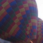 148. Sunrise balloon ride over rock valley