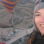 155. Me in the hat in the balloon