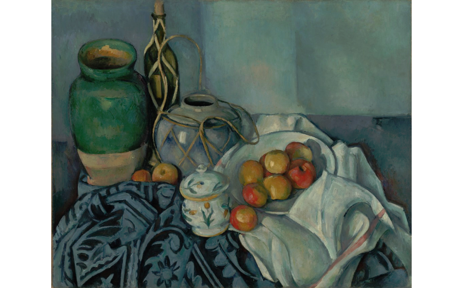 paul cezanne still life with apples