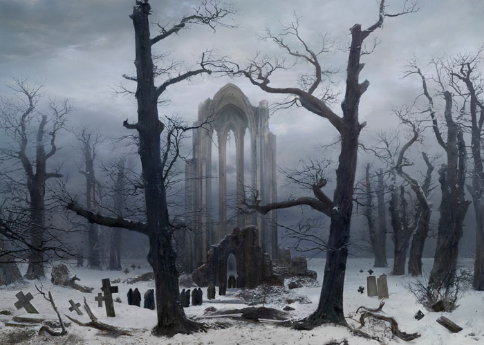 klosterfriedhof_im_schnee japanese tribute
