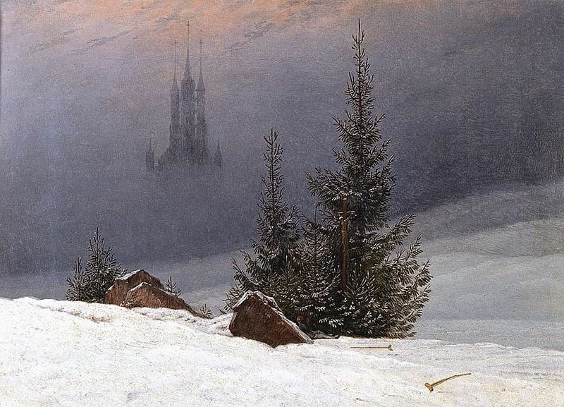 winter-landscape-with-church-by-caspar-david-friedrich-dortmund-1811
