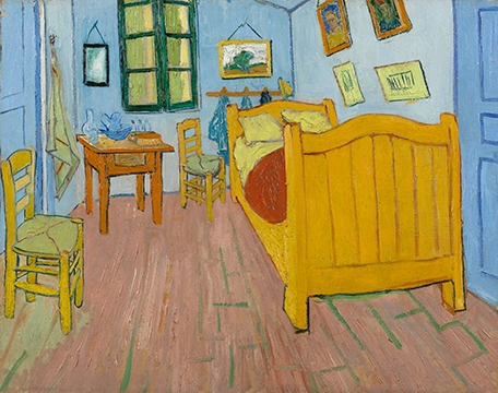Van Gogh's Bedroom Perspective