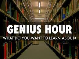 Genius Hour - Sharing our Work