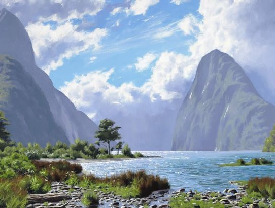 Landscape Art - Atmospheric Perspective