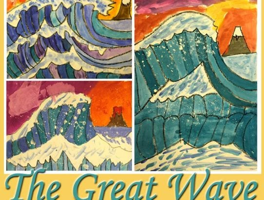 The Great Wave Watercolour