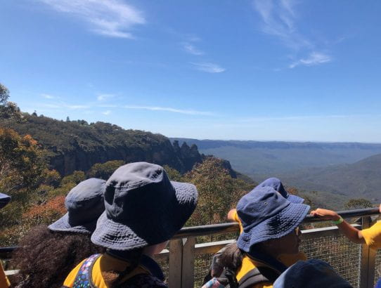 Excursion to Scenic World